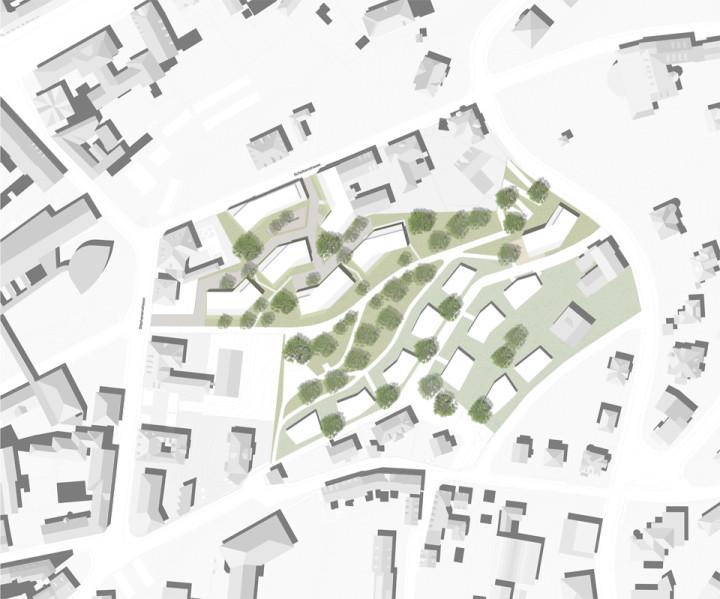 Wohnen im Vincenti_Lageplan
